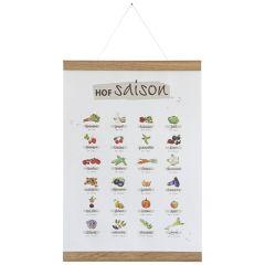 HOF direkt Set: HOFsaison Poster + Posterleisten